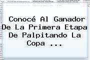 Conocé Al Ganador De La Primera Etapa De Palpitando La <b>Copa</b> <b>...</b>