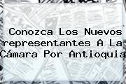 Conozca Los Nuevos <b>representantes A La Cámara</b> Por Antioquia