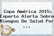 <b>Copa América 2015</b>: Experto Alerta Sobre Riesgos De Salud Por <b>...</b>