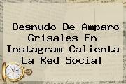 Desnudo De <b>Amparo Grisales</b> En Instagram Calienta La Red Social