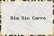 <b>Dia Sin Carro</b>