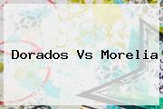 <b>Dorados Vs Morelia</b>