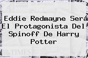 <b>Eddie Redmayne</b> Será El Protagonista Del Spinoff De Harry Potter