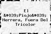 El &#039;<b>Piojo</b>&#039; <b>Herrera</b>, Fuera Del Tricolor
