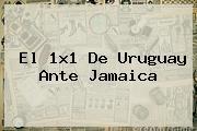 El 1x1 De Uruguay Ante <b>Jamaica</b>