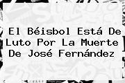 El Béisbol Está De Luto Por La Muerte De <b>José Fernández</b>
