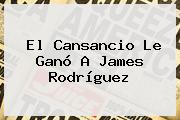 El Cansancio Le Ganó A <b>James Rodríguez</b>