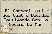 El <b>Caracol</b> Azul Y Sus Cuatro Décadas Cautivando Con La Cocina De Mar