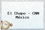 El <b>Chapo</b> - CNN México