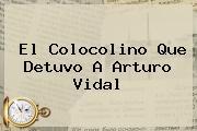 El Colocolino Que Detuvo A <b>Arturo Vidal</b>