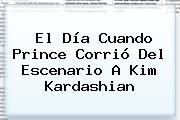 El Día Cuando <b>Prince</b> Corrió Del Escenario A <b>Kim Kardashian</b>
