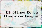 <i>El Olimpo De La Champions League</i>