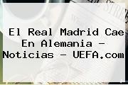 El Real Madrid Cae En Alemania - Noticias - <b>UEFA</b>.com