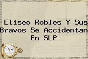 <b>Eliseo Robles</b> Y Sus Bravos Se Accidentan En SLP