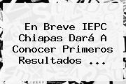 En Breve <b>IEPC Chiapas</b> Dará A Conocer Primeros Resultados <b>...</b>