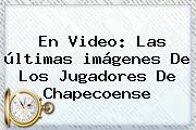 En Video: Las últimas <b>imágenes</b> De Los Jugadores De <b>Chapecoense</b>