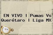 EN VIVO | <b>Pumas Vs Querétaro</b> | Liga MX