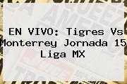 EN VIVO: <b>Tigres Vs Monterrey</b> Jornada 15 Liga MX