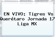 EN VIVO: <b>Tigres Vs Querétaro</b> Jornada 17 Liga MX