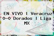 EN VIVO   Veracruz 0-0 Dorados   <b>Liga MX</b>
