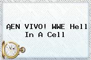 ¡EN VIVO! <b>WWE</b> Hell In A Cell