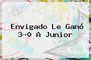 <b>Envigado</b> Le Ganó 3-0 A <b>Junior</b>