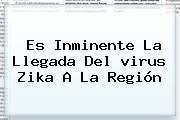 Es Inminente La Llegada Del <b>virus Zika</b> A La Región