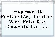 Esquemas De <b>protección</b>, La Otra Vena Rota Que Denuncia La <b>...</b>