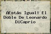 ¡Estás Igual! El Doble De <b>Leonardo DiCaprio</b>