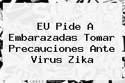 EU Pide A Embarazadas Tomar Precauciones Ante Virus <b>Zika</b>