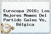 Eurocopa 2016: Los Mejores Memes Del Partido <b>Gales Vs</b>. <b>Bélgica</b>