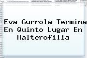 Eva Gurrola Termina En Quinto Lugar En <b>Halterofilia</b>