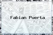 <b>Fabian Puerta</b>