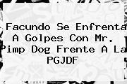 Facundo Se Enfrenta A Golpes Con <b>Mr</b>. <b>Pimp Dog</b> Frente A La PGJDF