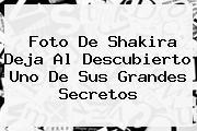 <i>Foto De Shakira Deja Al Descubierto Uno De Sus Grandes Secretos</i>