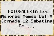 FOTOGALERIA Los Mejores Memes Del A <b>Jornada 12</b> Sabatina De <b>...</b>