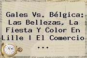 <b>Gales Vs</b>. <b>Bélgica</b>: Las Bellezas, La Fiesta Y Color En Lille   El Comercio ...