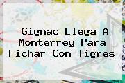 <b>Gignac</b> Llega A Monterrey Para Fichar Con Tigres