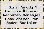 <b>Gina Parody</b> Y Cecilia Álvarez Rechazan Mensajes Homofóbicos Por Redes Sociales