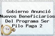Gobierno Anunció Nuevos Beneficiarios Del Programa <b>Ser Pilo Paga</b> 2
