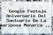 Google Festeja Aniversario Del Santuario De La <b>mariposa Monarca</b> <b>...</b>