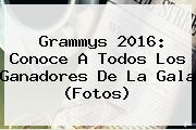 <b>Grammys 2016</b>: Conoce A Todos Los Ganadores De La Gala (Fotos)