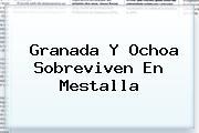 Granada Y Ochoa Sobreviven En Mestalla