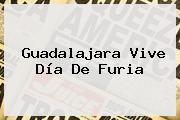 <b>Guadalajara</b> Vive Día De Furia