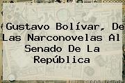 <b>Gustavo Bolívar</b>, De Las Narconovelas Al Senado De La República