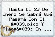 Hasta El 23 De Enero Se Sabrá Qué Pasará Con El &#039;<b>pico Y Placa</b>&#039; En ...