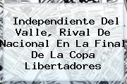 <b>Independiente Del Valle, Rival De Nacional En La Final De La Copa Libertadores</b>