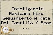Inteligencia Mexicana Hizo Seguimiento A <b>Kate Del Castillo</b> Y Sean <b>...</b>
