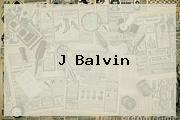<b>J Balvin</b>