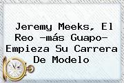 <b>Jeremy Meeks</b>, El Reo ?más Guapo? Empieza Su Carrera De Modelo